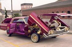 """(loco64 best lowrider ever)"" you know how easy it would be to work on my engine if I could do that."