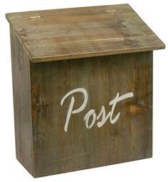 "Ib Laursen - Briefkasten ""Post"" aus Holz, Braun (Art.-Nr.... http://www.amazon.de/dp/B00O8Q4ODQ/ref=cm_sw_r_pi_dp_4MInxb0FBRX49"