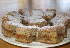 Diós süti recept képpel. Hozzávalók és az elkészítés részletes leírása. A diós süti elkészítési ideje: 40 perc Poppy Cake, Tiramisu, Baking Recipes, Sweets, Cookies, Ethnic Recipes, Google, Dios, Cooking Recipes