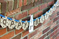 Milk & Cookies Banner, Cookie Banner, Happy Birthday Banner - Rocky Mountain Mama on Etsy
