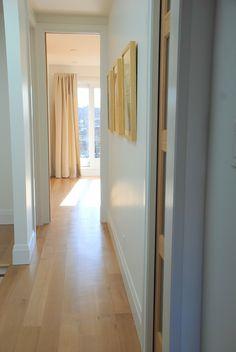 Bright Hallway Third Floor Bedroom