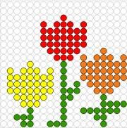 Pixel Art, Perler Beads, Sims 4, Knitting Patterns, Lego, Easter, Flowers, Projects, Inspiration
