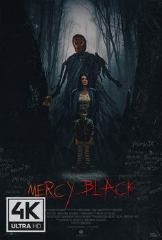Mercy Black - Fifteen years after stabbing a classmate to conjure an evil and imaginary phantom known as Mercy Black, a woman is released from psychiatric care Buy Movies, Movies 2019, Scary Movies, Movies To Watch, Ghost Movies, Horror Movie Posters, Horror Movies, Austin Amelio, Luke Hemsworth