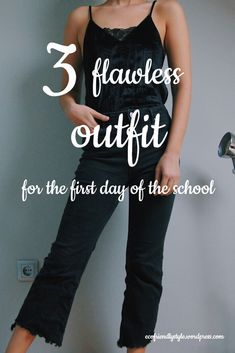 These outfits are perfect for the first day of the school. Be Perfect, School, Day, Outfits, Beautiful, Tops, Women, Fashion, Moda
