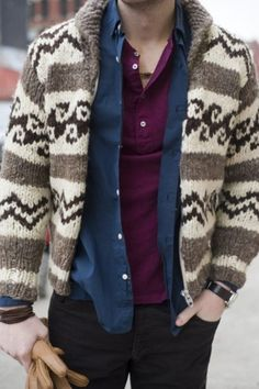 Sweater. #style #fashion #men
