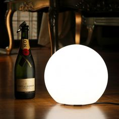 Mains LED Ball Lamp for weddings, events, parties, home. #weddinglight #orb #ball #sphere #mainspowered #