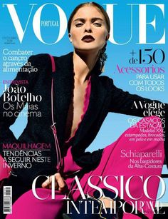 Anna Rudenko by Mario Principe for Vogue Portugal October 2014