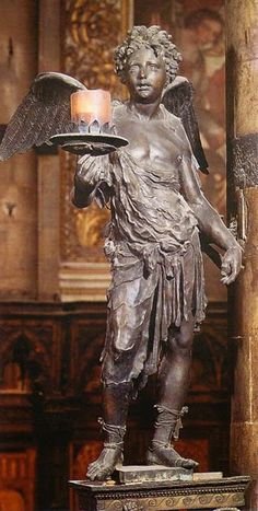 Domenico Beccafumi, Angelo (1548-1551; Siena, Duomo)