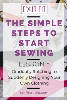 Let's get inspired- a huge part of learning to sew is the time spent in actual…