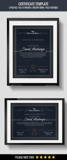Multipurpose Certificates - Certificate Template PSD. Download here: http://graphicriver.net/item/multipurpose-certificates/15026327?s_rank=35&ref=yinkira