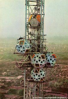 Expo Tower, Osaka, Japan, 1970 - Kiyonori Kikutake