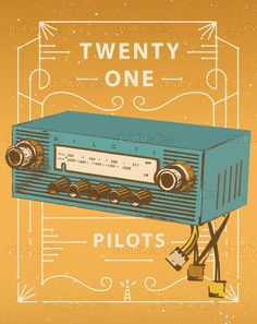 twenty | one | pilots Poster by Christian Smith on CreativeAllies.com