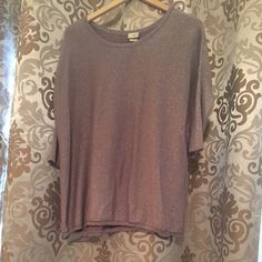 Buckle Daytrip oversized sweater Tan, Sparkley, oversized sweater! Perfect with leggings & boots! Daytrip Sweaters