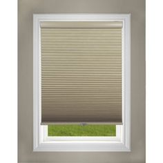 Regal Estate Cordless Blackout Cellular Shade, Khaki, Beige