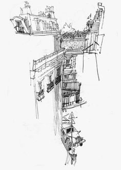 Urban Sketchers: I See London, I See France….