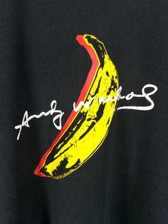 XMAS 25% Vintage ANDY WARHOL T shirt Large by CaptClothingVintage