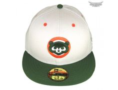 3a23f704a3b0ba custom chicago beige olive cooperstown 59fifty fitted baseball cap new era  mlb 1 Cubs Hat