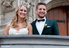 Huwelijk Rode Duivel Dries Mertens (Pictures)