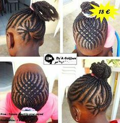 Kids braid designs