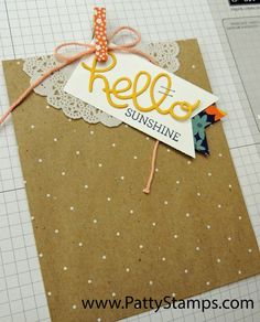September 19, 2014 Patty's Stamping Spot: Founders Circle prize-day-2 Stampin'Up  bag-make-and-take