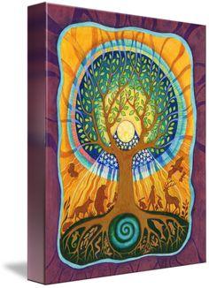 world tree by FAITH NOLTON