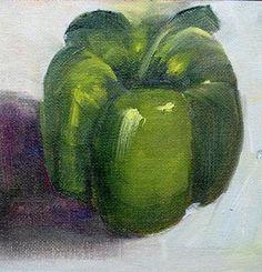 """Pepper Green miniature"" - Barbara Haviland"