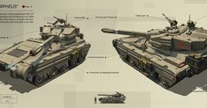 Denis Melnychenko on Artstation.com Keywords: akt 16 morpheus concept tank art render illustration by denis melnychenko deniboy on artst...