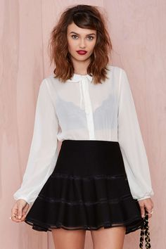 Joa Flare Up Skirt | Shop What's New at Nasty Gal