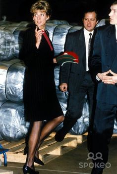 July 12, 1993: Princess Diana Red Cross Mazera, Zimbabwe. Photo: Dave Chancellor/Alpha-Globe Photos