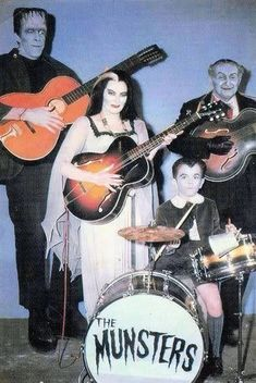 My childhood playing the drums #themunsters