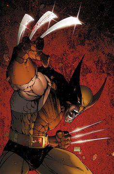 Wolverine: Origins Alt Cover Art, by Comic Artist Michael Turner (R.I.P.) #Comics #Illustration #Drawing