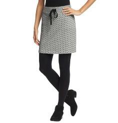 Diamond Print Tie Waist Mini Skirt | Loft  40