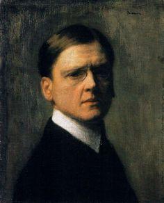 Self-Portrait 1904 Jozef Pankiewicz
