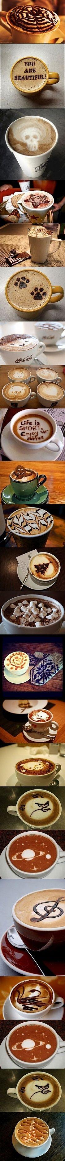 Jak ozdobić kawę... ;)