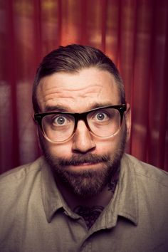 blue eyes. canadian hipster. beard. singer. side part combover. forever SWOONING over Dallas Green <3