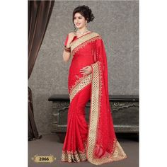 Handwork Designer Saree ( D.No.2066 )