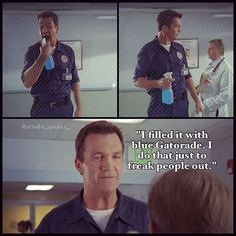 Janitor :) Scrubs Quotes funny www.reddoorcleaning.ca