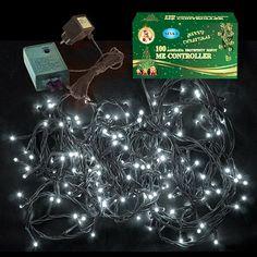 Χριστουγεννιάτικα Λαμπάκια Led Λευκά 180L Εξωτερικού Χώρου με μετασχηματιστή 24V      180 λαμπάκια λευκά LED  Πράσινο καλώδ... Led, Decor, Decoration, Decorating, Deco