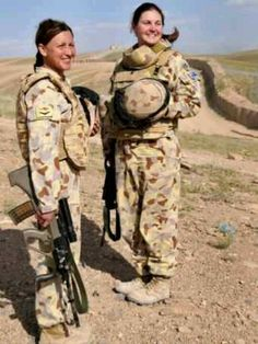 These warrior sisters belong to the RTF based in in Uruzgan province Afghanistan. 2010 ish?