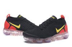 the best attitude fa742 23375 Nike Air VaporMax 2018 Flyknit 2018 Black Gold Orange Women - New Coming - Nike  Air VaporMax 2018 Flyknit 2018 Black Gold Orange Women Men Couple Sneakers  ...