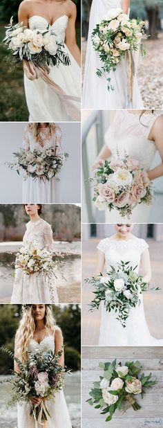 2018-trending-neutral-wedding-bouquets.jpg 600×1,573 pixels