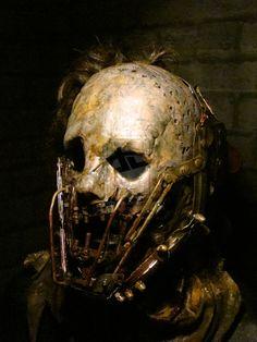 2nd Custom Leatherface Mask 1 by purplenothing on deviantART