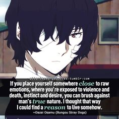 48 Best Bungou Stray Dogs Quotes images in 2017 | Manga