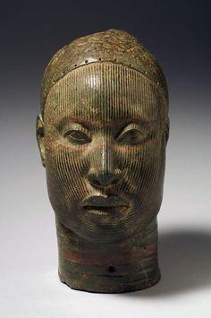 Arte africana, feita por volta do Século XIII.