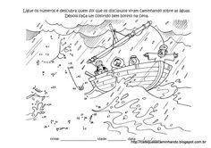 De storm op zee, dot to dot / Ensino Religioso,Moral,Ética e Cidadania