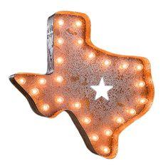 Vintage Marquee Lights // Texas Vintage Marquee Light