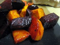 Roasted Sweet Potatoes And Beets