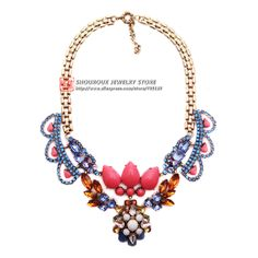 Top Quality Statement necklace 2014 women Choker Vintage Collar Chunky Pendant Necklace Necklaces & Pendants Fashion Necklaces