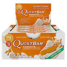 Quest Bar Protein Bar Pumpkin Pie jetzt auch im Display in unbeschränkter Menge verfügbar (Wiederverkäufer beschränkt) #lowcarb #highprotein #hoherProteingehalt #muskelaufbau #bodybuilding #abnehmen #CheatClean #fitness #active12 #natural #PumpkinPie #QuestNutrition
