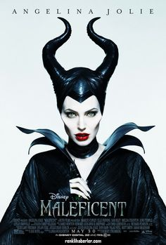 Maleficent! A beautiful poster, so striking, it jumps out among a sea of DVD covers and the images on the streaming sites. We thought we knew who Maleficent was, and this poster plays into that and still leaves us intrigued enough to watch.
